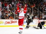 Anaheim Ducks Vs Detroit Red Wings 02 10 2012 Highlights