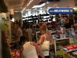 Ashley Tisdale Shopping On Robertson