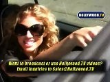 AnnaLynne McCord Drives Around Hollywood