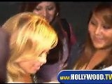 Adrienne Bailon And Sabrina Bryan Leaving Club Opera