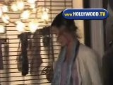 Alessandra Ambrosio Leaves Villa