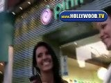 Audrina Patridge Talking Too The Paps