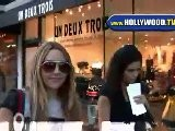 Amanda Bynes And Friend In Beverly Hills