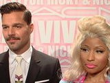Access Hollywood Ricky Martin & Nicki Minaj Go Glam For MAC