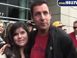 Adam Sandler Spotted At Staples Center