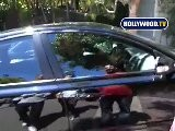 Action At Sandra Bullock House