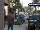 Arnold Schwarzenegger At DAVID ORGELL In Beverly Hills