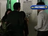 Ashley Tisdale Signs Autographs For Kids On Robertson BLVD