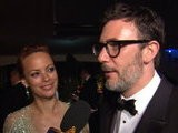 Access Hollywood Oscars 2012: &#039 The Artist&#039 S&#039 Michel Hazanavicius & Berenice Bejo Joke About Jean Dujardin Dropping The F-Bomb