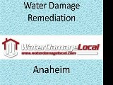 Anaheim Water Damage Remediation