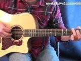 Amazing Grace - Solo Acoustic Guitar Lesson