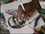Atlanta Artist Corey Barksdale Coltrane Sketch Speed Drawing Art Atlanta Time Lapse Illustration Art