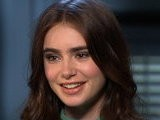 Access Hollywood Lily Collins Talks Supposed ' Snow White' Feud With Kristen Stewart