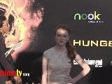 Annie Thurman THE HUNGER GAMES World Premiere Arrivals