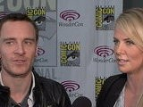 Access Hollywood WonderCon 2012: Charlize Theron & Michael Fassbender Talk Ridley Scott&#039 S &#039 Prometheus&#039