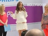 Alessandra Ambrosio Hits Fashion, Beauty Show