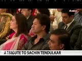 Abhishek Bachchan Pay Tribute To Sachin Tendulkar