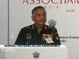 Army Chief General VK Singh Speaks At ASSOCHAM Conference