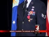 Airmen Awarded The Bronze Star
