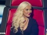 Adam Levine, Christina Aguilera Fight During &#039 The Voice&#039