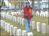 Boy Scout Cleans More Than 700 Veteran Tombstones
