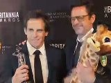 Ben Stiller & Robert Downey Jr. Behind The Scenes At The Britannia Awards