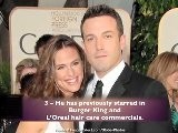Ben Affleck - Top 10 Fun Facts
