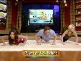 Brooke Burke Working Out On Live With Kelly