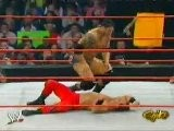 Batista Vs Chris Benoit - RAW 10.4.2004
