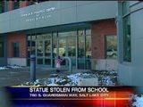 Bronze Statue Stolen From School For Autistic Children