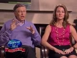 Bill And Melinda Gates In Idol Gives Back