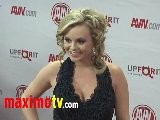 Bree Olson At 2012 AVN AWARDS Show Red Carpet Arrivals