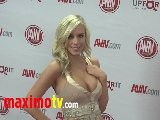 Bibi Jones At 2012 AVN AWARDS Show Red Carpet Arrivals