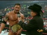 Batista And Jim Ross Interview - RAW 4.11.2005
