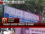 Baby Falak&#039 S Sister Found, Brought To Delhi, Brother Still Missing
