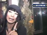 Bai Ling And Dave Navarro On Vine Street