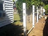 Bullfrog Builders Installing A PVC Fence In Nassau County - Day 1