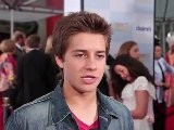 Billy Unger On Lab Rats & Cody Simpson At ' Mirror Mirror' Premiere