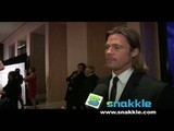 Brad Pitt Talks Mentors With Snakkle