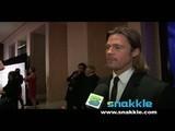 Brad Pitt Talks Mentors With Snakkle