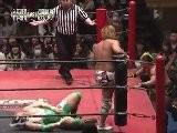 Kaz Hayashi & Shuji Kondo Vs Keisuke Ishii & Shigehiro Irie DDT