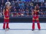 Backstage Fallout Eve Torres & The Bella Twins