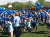 Balloon Release For Autism Awareness