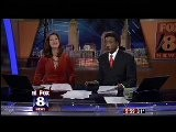 Cleveland Newsbabe Reporter Stacey Frey Low Cut Down Blouse Blazer 12-1-11 Fox 8