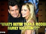Charlie Sheen Vacations With Denise Richards