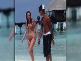 Tulisa And Fazer Enjoy Romantic Maldives Holiday