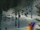 Cold Brings Out Skiers At Elk Mountain