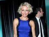 Cameron Diaz Flaunts A Muscular Shape At Golden Globes After Party