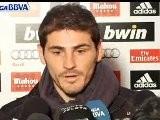 Casillas: Si Queremos Ganar La Liga BBVA Tenemos Que Estar Unidos