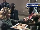 Christina Applegate Signs Autographs For Fans